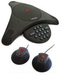Polycom Conference Phone - Houston AV Rental